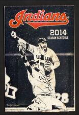 2014 Cleveland Indians Schedule--Medical Mutual--Jason Kipnis/Nick Swisher