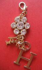 bijoux fantaisie pendentif pour collier PORTE-CLEFS plaqué or 7cm