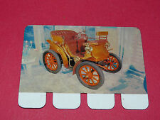 N°59 DELAHAYE 1898 PLAQUE METAL COOP 1964 AUTOMOBILE A TRAVERS AGES