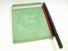 PREMIER POLYBOARD PAPER TRIMMER CUTTER 12X12 MODEL 212 STYLE G APRIL 1985