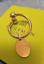 Dorfman Sterling Silver Twist Keychain From Greenbrier NWOT