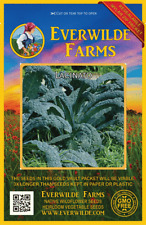Everwilde Farms Mylar Seed Packet 500 Lacinato Kale Seeds