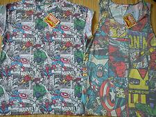 Nuevo paquete de 2 xmarvel Comics para hombre T-Shirt Tee Talla M o chicos 13/14/15 años