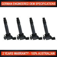 4x New OEM Ignition Coil for Holden Barina Spark CD Auto MJ 1.2L - 4 Pin Plug