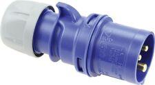 CEE Drehstromstecker Stecker Shark 230V 16A IP44 PCE 013-6 013-6