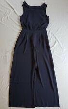 Boden Women's Clarissa Wide-Leg Jumpsuit CD4 Navy Size US:2 UK:6 NWT