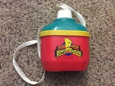 Mighty Morphin POWER RANGERS Water Canteen (Hard to find)