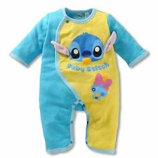 Newborn Baby Boy Animal Bodysuit Outfit Costume Romper Cotton Clothes 9-12M 3