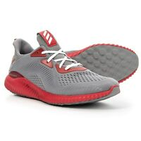 Mens ADIDAS Alphabounce Grey Red Running Sneaker Men's AC8044 SIZE 15~18 M ~NEW