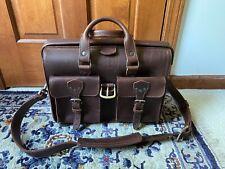 Saddleback Leather Flight Bag