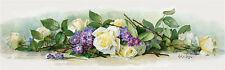 Bride Roses & Violets by Paul de Longpre (Art Print of Vintage Art)