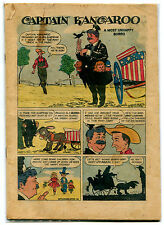 Captain Kangaroo Dell 4-Color 872 Whole Number #3 Coverless 1958