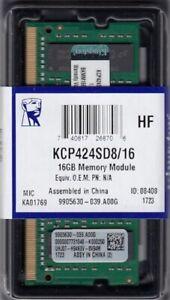 Kingston 16GB DDR4 2400MHz memory module - KCP424SD8/16