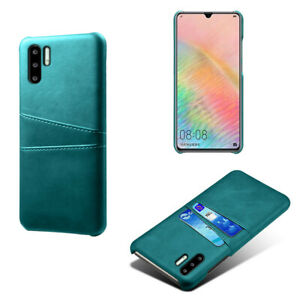 For Huawei P30 P20 Pro Lite Case Luxury Slim Leather Back Card Slot Wallet Cover