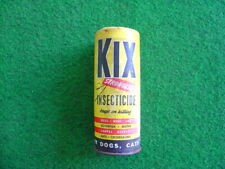 Vintage 50's KIX insecticide pack/packaging/grocery/retro