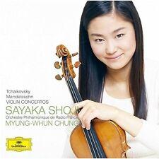 Sayaka Shoji - Tchaikovsky & Mendelssohn: Violin Concerto [New CD] Shm CD, Japan