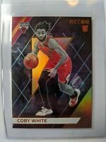 2019-20 Chronicles Panini NBA Coby White #295 Recon Bronze Bulls RC SSP