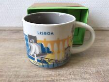 New Starbucks LISBOA You Are Here Collection YAH City Mug Portugal Lisbon Europe