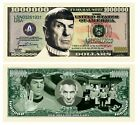 Pack of 100 - Leonard Nimoy Star Trek Spock Collectible Million Dollar Bill