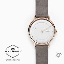 Skagen Ladies' Horisont Special Edition Genuine Diamond Leather Watch SKW2739