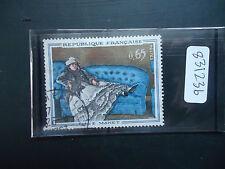 France 1962 French Art Manet (1v) (SG 1591) Used