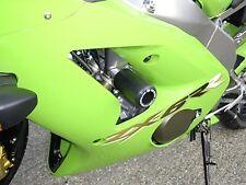 R&G Crash Protectors Classic Style for Kawasaki ZX6-R (2003 - 2004)   WHITE