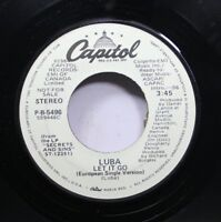Rock Promo 45 Luba - Let It Go / Let It Go On Capitol