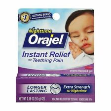 Baby Orajel Nighttime Formula 0.18 oz Instant Relief for Teething Pain Exp 6/18
