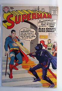 Superman #124 DC Comics 1958 VG+ Silver Age 1st Print Comic Book
