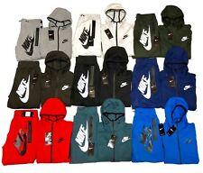 Nike Tech Fleece Sweat Suit Full Zip Hoodie + Joggers Men's Complete Set