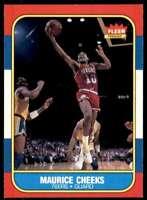 1986-87 Fleer Basketball Maurice Cheeks Philadelphia 76ers #16