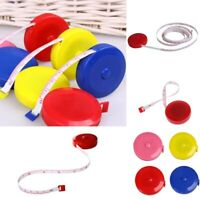 "Practical 60"" Retractable Ruler Tape Measure Sewing Cloth Dieting Tailor 150cm"