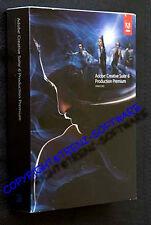 Adobe Creative Suite 6 Production Premium Macintosh englisch Voll Box neu  CS6