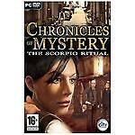 Chronicles Of Mystery: Scorpio Ritual PC DVD Computer Video Game UK Release