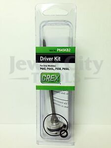 Brand New Grex Replacement Driver Kit P645 P645L P650 P650L - Part # P645KB2
