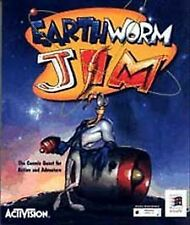 Earthworm Jim ORIGINAL Video Game CD PC 95 Windows Activision New Sealed