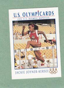 JACKIE JOYNER-KERSEE 1992 US OLYMPIC HOPEFULS IMPEL CARD #HP8