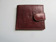 Renato Balestra Men's Brown Textured Leather Wallet New Without Tags