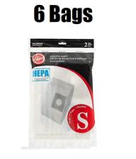 Hoover Type S HEPA Bag 4010808S 6 Bags GENUINE