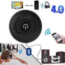 Bluetooth 4.0 Transmitter Audio H366T Wireless Adapter 3.5mm Jack A2DP TV Stereo