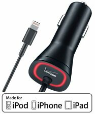 Original Verizon MFI Certified Lightning Car Charger For Apple iPhone 7 & 7 Plus