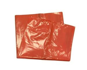 Heavy Duty Orange Waste Bags - 25 Bags (27cm x 47cm)