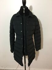NWT Women's PEUTEREY Colosseum Long Down Coat, Size 40, X-Small, Black