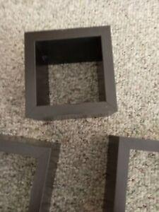 Target Brand Set Of 3 Wall Cubes