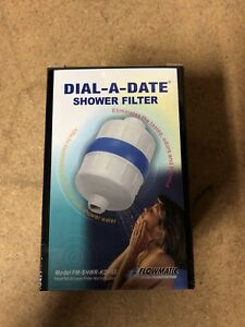 DIAL-A-DATE SHOWER FILTER - KDF 55 - NEW IN BOX