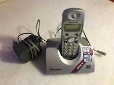 Panasonic KX-TCD420GS schnurloses DECT Telefon silber