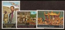 ASCENSION SG222/4 1977 SILVER JUBILEE MNH