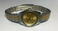 NOS 1990s Lorus by Seiko Ladies Two-tone Stainless Steel Watch Ref. RPT026