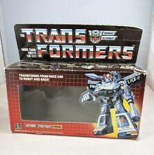 Prowl Transformers G1 BOX ONLY vintage Original Complete Part uncut points tech