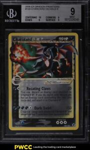 2006 Pokemon EX Dragon Frontiers Gold Star DS Holo Charizard #100 BGS 9 MINT